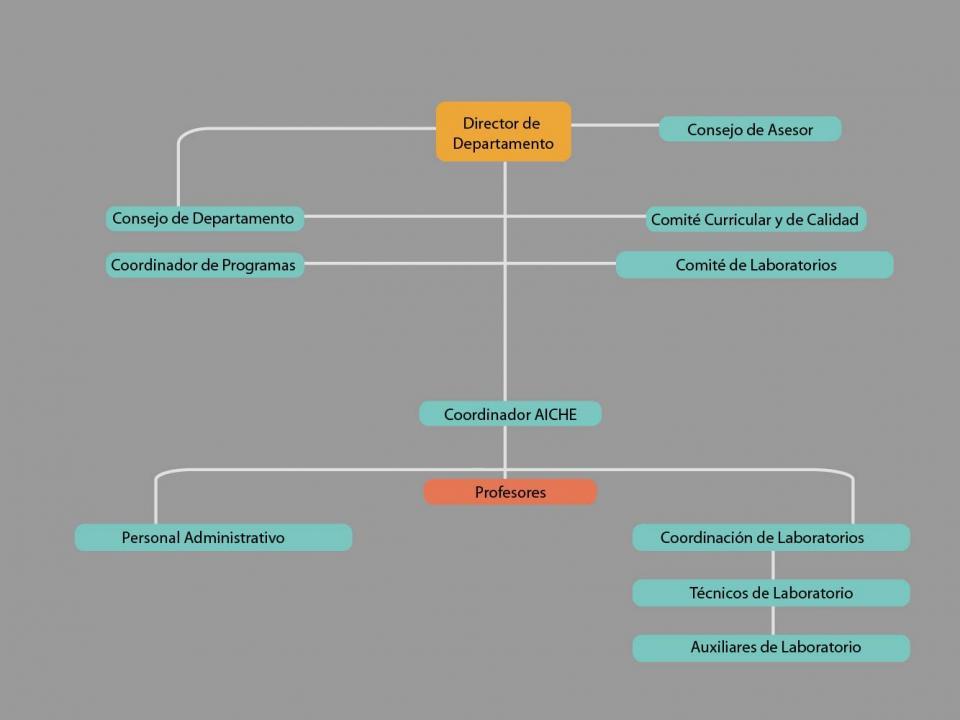 organigrama ingenieria quimica alimentos uniandes