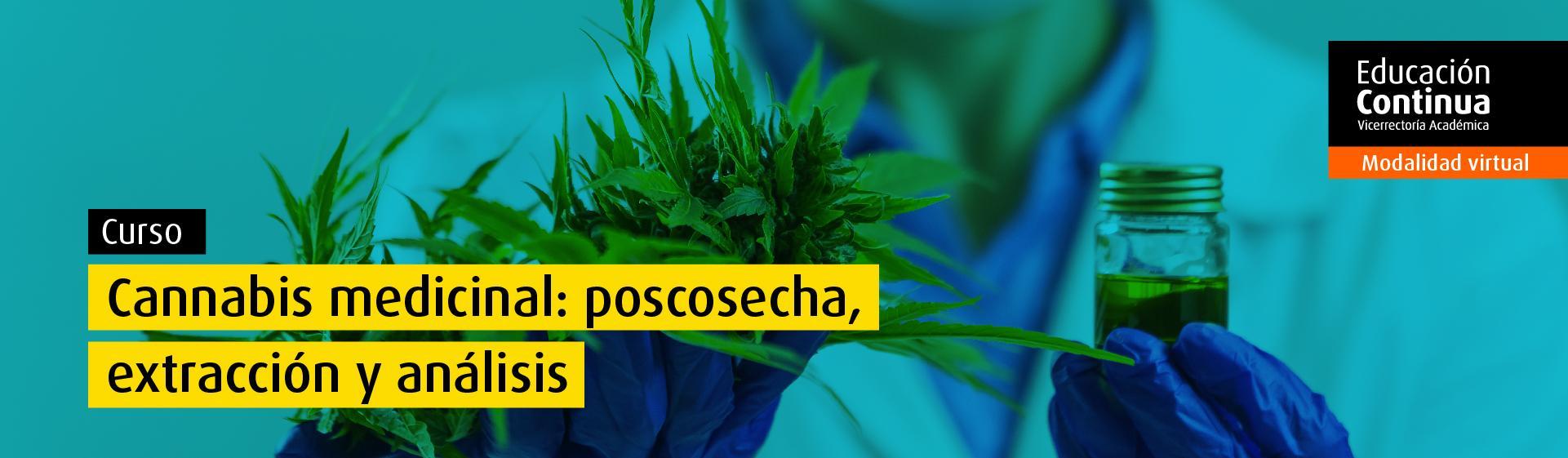 Curso Abierto: Cannabis medicinal: poscosecha, extracción y análisis ingeniería química alimentos uniandes