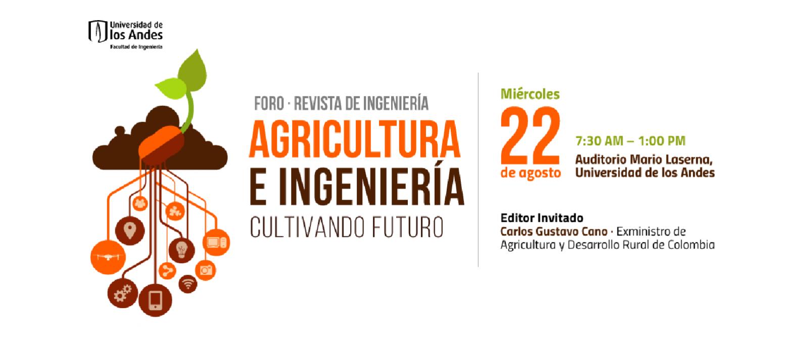 Foro Agricultura e Ingeniería   Uniandes