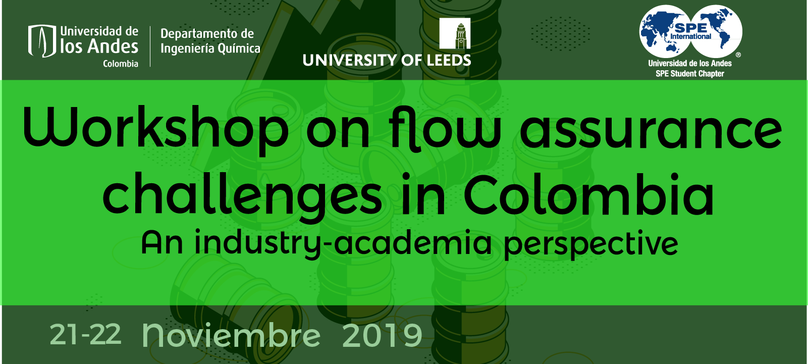 Workshop on flow assurance callenges in Colombia | Uniandes