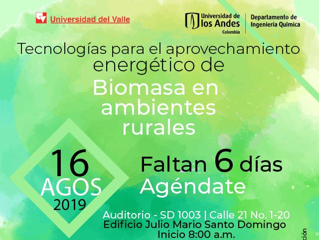 Tecnologías aprovechamiento energético de biomasa química uniandes