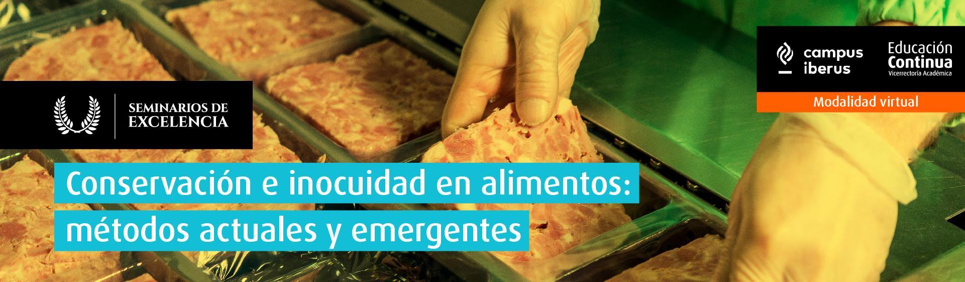 seminario de excelencia conservación e inocuidad alimentos métodos actuales y emergentes ingeniería de alimentos uniandes