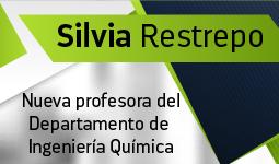 Silvia Restrepo, nueva profesora del Departamento de Ingeniería Química | Uniandes